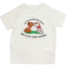FECLOTHING T-shirts -  embroidery cat velvet T-shirt