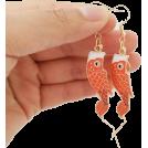 FECLOTHING Uhani -  fish earrings