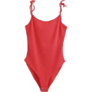 FECLOTHING Fatos -  halter conjoined strap bodysuit