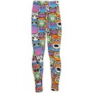Amazon.com Pantaloni -  iZZYZX Kid's Funny & Cute Pattern Print Leggings - Cartoon Flag Character Skull Flower
