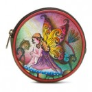 Anuschka Portafogli -  Anuschka Round Coin Purse - Women's - Wallets - Multi