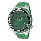 SWISS LEGEND Watches -  SWISS LEGEND Men's Neptune Green Dial Green Rubber 21848P-08