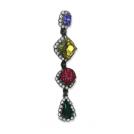 Girl Meets Dress Earrings -  Envy 4 Stone Earrings