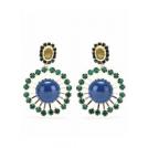Girl Meets Dress Earrings -  Clip-on Pendent Earrings