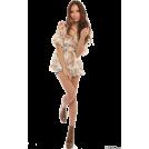 LIZ LISA(リズリサ) 女士束腰长衣 -  LIZ LISA(リズリサ)花柄シフォンチュニック