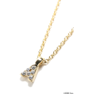 rosebullet(ローズブリット) Necklaces -  rosebullet(ローズブリット) プチイニシャルネックレス