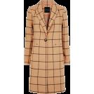 sandra  Jaquetas e casacos -  new Look check coat