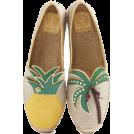 octobermaze  Balerinke -  pineapple shoes