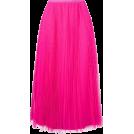 octobermaze  Suknje -  pink pleated skirt