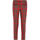 octobermaze  Leggings -  plaid leggings