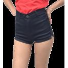 FECLOTHING pantaloncini -  retro washed high waist shorts