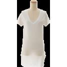 BEAMS(ビームス) 女士束腰长衣 -  BEAMS Vネックチュニック