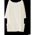 KBF(ケービーエフ) 女士束腰长衣 -  KBF+ ボーダーチュニック