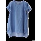 URBAN RESEARCH アーバンリサーチ 女士束腰长衣 -  UR NET限定 テンセルデニムチュニック