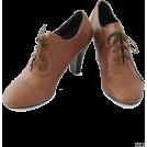 URBAN RESEARCH アーバンリサーチ Shoes -  UR jujube レースUPレザーブーティ