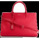 ArtFashionByRomilly  Hand bag -  ysl red tote