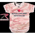 Rothco Baby Pink Camo  - Camisa - curtas - $4.95  ~ 4.25€