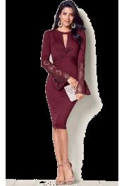 Statement sleeve dress (Venus) - My look