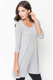 Knit Tunic Tops - Moj look