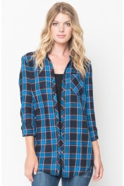 Oversized Plaid Shirts - Moj look