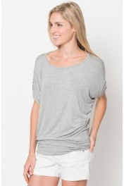 Ruched Short Sleeve Top - Moj look