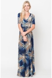 Wrap Maxi Dresses - Moj look