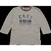 リバーシブル7分袖カットソー - T-shirts - ¥2,800  ~ $24.88