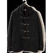 ■SC: ミラノリブ ニット ダッフルコート - Jacket - coats - ¥18,000  ~ $159.93