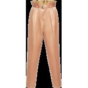 Bottega Veneta slik pants - Capri & Cropped - $1,110.00  ~ ¥7,437.37