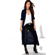 Cardigan, Fashion,Rib Knit - Dresses -