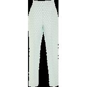 DELPOZO Cigarette Pleated Trousers - Capri & Cropped - $1,200.00  ~ ¥8,040.40