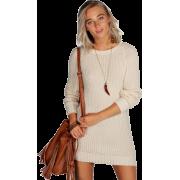 Jumper Dress, Fashion, Knit - Dresses -