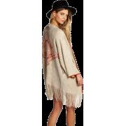 Tassel Cardigan, Fashion,Knit - ワンピース・ドレス -