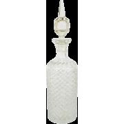 1920's Art Deco Cut Crystal Decanter - Items -
