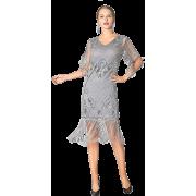 1920s Art Deco Flapper Fancy Dress - Dresses - $48.99