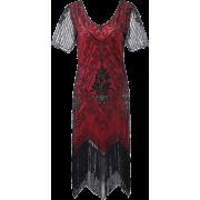 1920s Gatsby Dresses Short Sleeve - Dresses - 38.99€  ~ $45.40