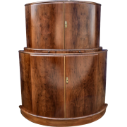 1930s walnut cocktail cabinet - Мебель -