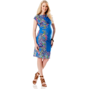 A Pea in the Pod: Donna Morgan Short Sleeve Paisley Print Maternity Dress Paisley Print - Dresses - $149.50