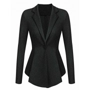 ACEVOG Blazers for Women Business Casual Formal Long Sleeve One Button Office Work Blazer Jacket - Dresses - $25.99