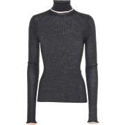 ACNE STUDIOS Ribbed turtleneck sweater - Cárdigan -