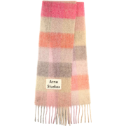 ACNE STUDIOS Striped alpaca, wool and mo - Scarf -