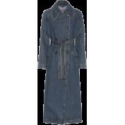 ALEXACHUNG Denim trench coat - Jacket - coats - $905.00