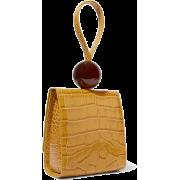 ALLIGATOR WRISTLET HANDBAG (2 COLORS) - Clutch bags - $36.97