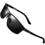 ATTCL Men's Polarized Driving Fishing Golf Sunglasses Al-Mg Metal Frame Ultra Light - Eyewear - $46.00