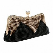 Afibi Women Handbags Rhinestone Evening Bags Crystal Party Clutches Bag - Bolsas pequenas - $21.99  ~ 18.89€