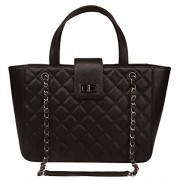 Ainifeel Women's Genuine Leather Quilted tote Bag Large Laptop Bag Purse On Promotion - Hand bag - $445.00