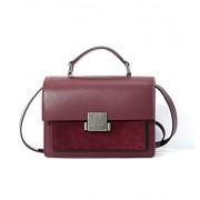 Ainifeel Women's Genuine Leather Small Messenger Bag Shoulder Handbag Crossbody Purse - Hand bag - $335.00