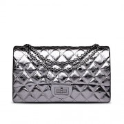 Ainifeel Women's Quilted Purse Genuine Leather Shoulder Handbag With Chain Strap - Hand bag - $115.00