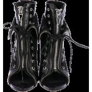 Alexander Wang Freja Black Boots - Boots -