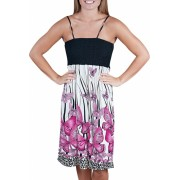 Alki'i Butterfly Goodness Silky smooth summer beach tube dress Fuscia - Dresses - $24.99